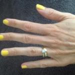 Shellac Bicycle Yellow