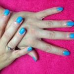 Shellac Cerulean Blue
